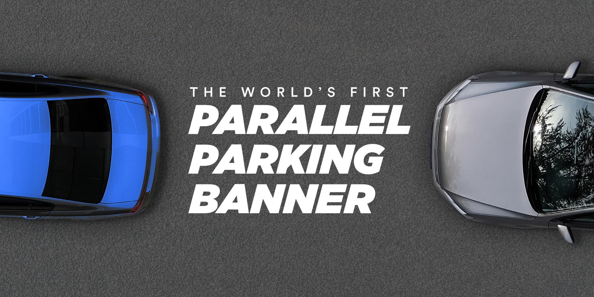 Parallel Parking Banner